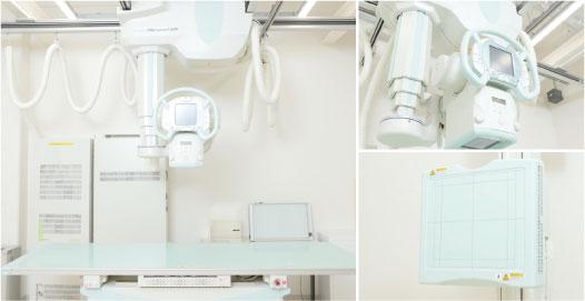 FPD搭載X線一般撮影システム